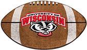 Fan Mats University of Wisconsin Football Mat