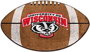 Fan Mats University of Wisconsin Football Mat