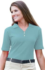 Jonathan Corey Ladies' Fine Pima Cotton Pique Polo