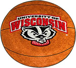 Fan Mats University of Wisconsin Basketball Mat