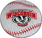 Fan Mats University of Wisconsin Baseball Mat