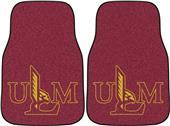 Fan Mats Louisiana-Monroe Carpet Car Mats (set)