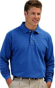 Inner Harbor Men's Meridian Long Sleeve Pique Polo