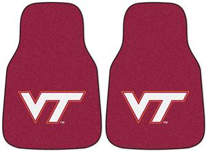 Fan Mats Virginia Tech Carpet Car Mat