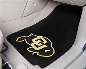 Fan Mats University of Colorado Carpet Car Mat