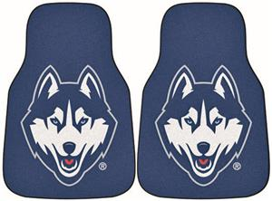 Fan Mats Univ of Connecticut Carpet Car Mats (set)