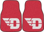 Fan Mats Univ of Dayton Carpet Car Mats (set)