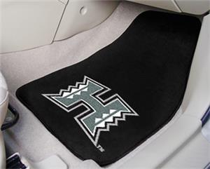 Fan Mats Univ of Hawaii Carpet Car Mats (set)