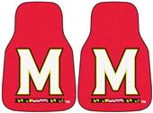 Fan Mats Univ. of Maryland Carpet Car Mats (set)