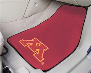 Fan Mats Univ of Minnesota Carpet Car Mats (set)