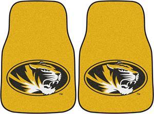 Fan Mats Univ of Missouri Carpet Car Mats (set)
