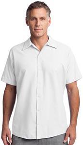 Red Kap Short Sleeve Pocketless Gripper Shirt