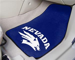 Fan Mats Univ of Nevada Carpet Car Mats (set)