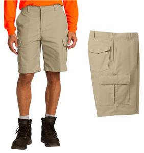 Red Kap Mens Industrial Cargo Work Shorts