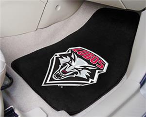 Fan Mats Univ of New Mexico Carpet Car Mats (set)