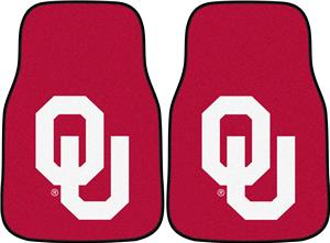 Fan Mats Univ of Oklahoma Carpet Car Mats (set)