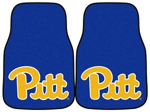 Fan Mats Univ of Pittsburgh Carpet Car Mats (set)