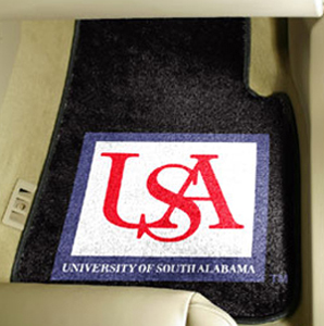 Fan Mats Univ. of South Alabama Carpet Car Mat
