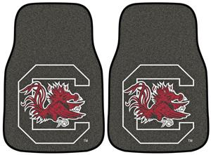 Fan Mats NCAA South Carolina Carpet Car Mats (set)