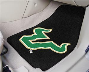 Fan Mats Univ. of South Florida Carpet Car Mat