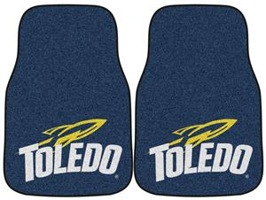 Fan Mats Univ of Toledo Carpet Car Mats (set)