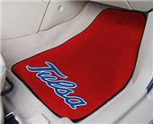 Fan Mats Univ of Tulsa Carpet Car Mats (set)