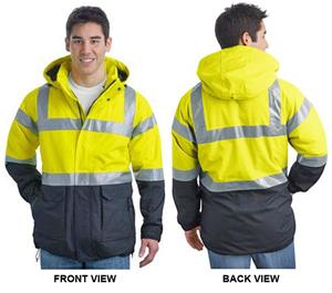Port Authority ANSI 107 Class 3 Safety Heavy Parka