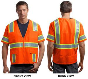 CornerStone ANSI 107 Dual-Color Safety Vest