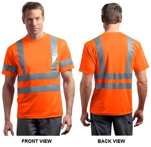 CornerStone ANSI 107 Snag-Resistant Reflective Tee