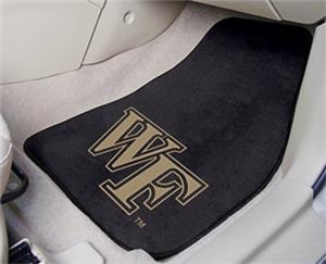 Fan Mats Wake Forest Univ Carpet Car Mats (set)
