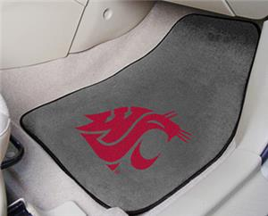 Fan Mats Washington State Univ. Carpet Car Mat