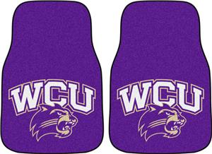 Fan Mats Western Carolina Univ. Carpet Car Mat