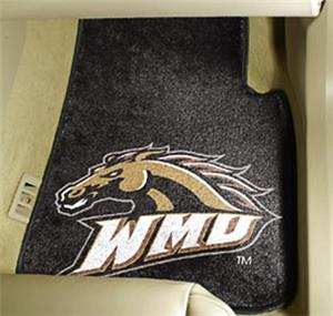 Fan Mats Western Michigan Univ. Carpet Car Mat