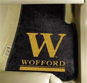 Fan Mats Wofford College Carpet Car Mat
