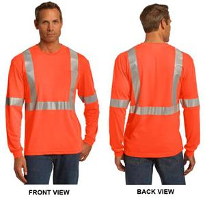 CornerStone ANSI 107 Class 2 LS Safety T-Shirt