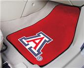 Fan Mats Univ of Arizona Carpet Car Mats (set)