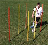 Breakdown - Outdoor Agility Poles (Set of 6)