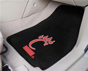 Fan Mats Univ of Cincinnati Carpet Car Mats (set)
