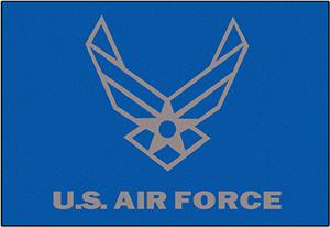 Fan Mats United States Air Force Starter Mat