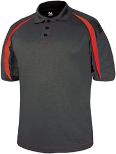 Badger Sport Polyester Fusion Polo Shirt