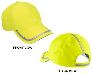 Port Authority Enhanced Visibility Workers Cap