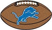Fan Mats Detroit Lions Football Mat