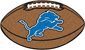 Fan Mats Detroit Lions Football Mat