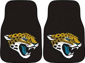 Fan Mats Jacksonville Carpet Car Mats (set)