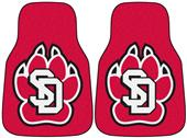 Fan Mats South Dakota Carpet Car Mats (set)