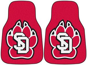 Fan Mats University of South Dakota Carpet Car Mat