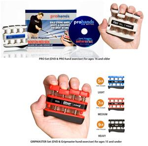 Prohands For Hitting/Pro & Gripmaster & DVD set
