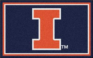 Fan Mats University of Illinois 4x6 Rug