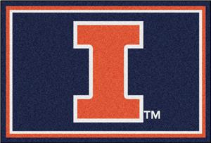 Fan Mats University of Illinois 5x8 Rug