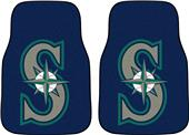 Fan Mats Seattle Mariners Carpet Car Mats (set)